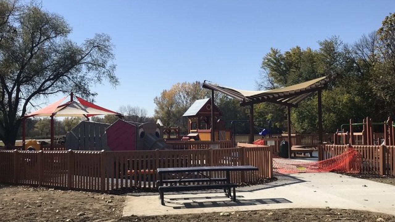 Dream playground opens In Council Bluffs Sunday