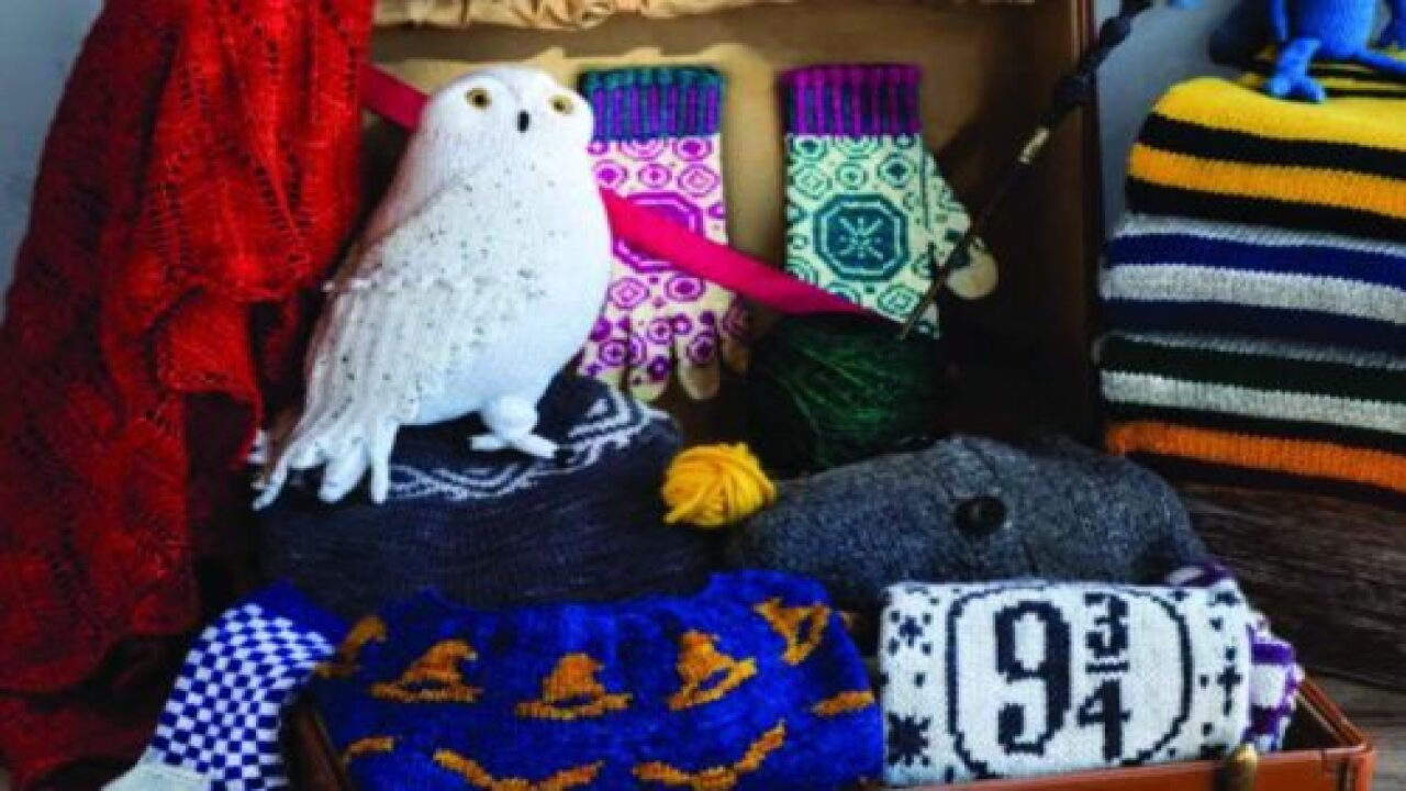 This Knitting Book Shows You How To Make Clothes And Creatures From 'Harry Potter'