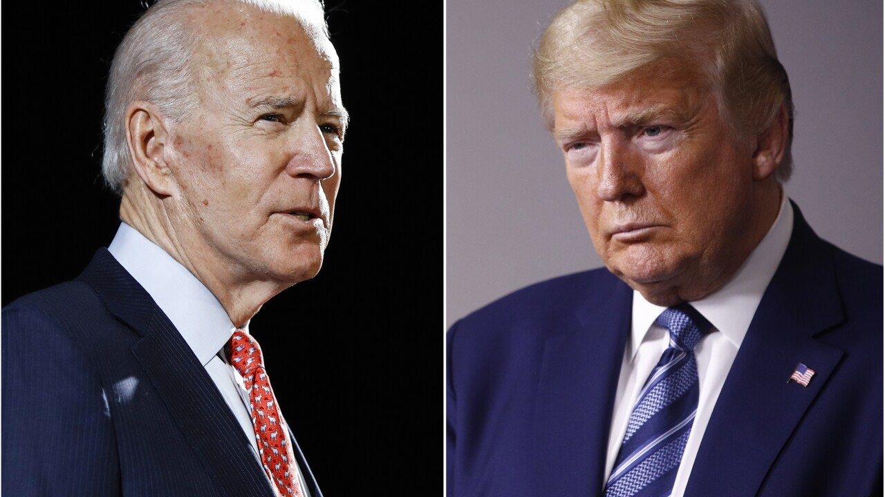 Viewer's guide: Trump, Biden hold competing town halls