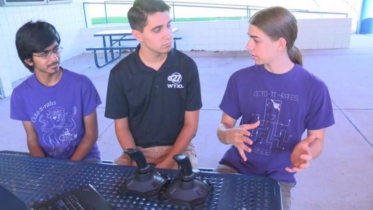 Tsaparis Tscience: SAIL High School Robotics Competition