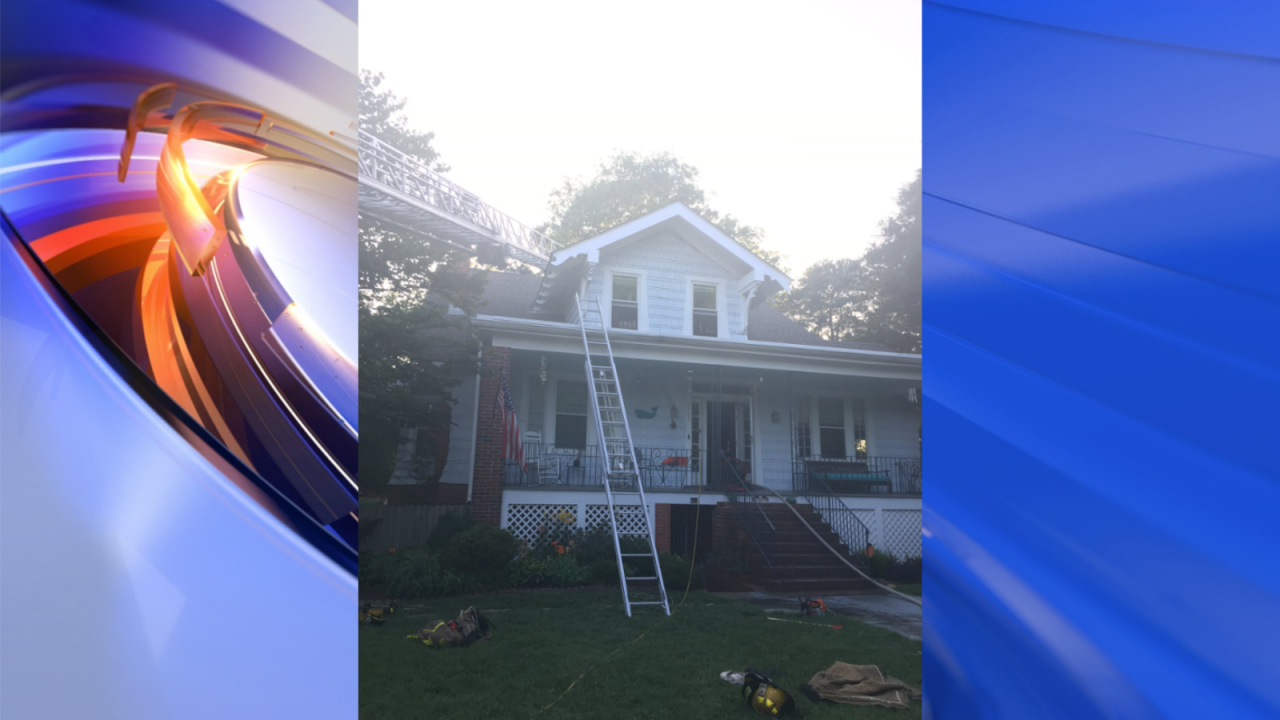 Firefighters responded to house fire in Norfolk