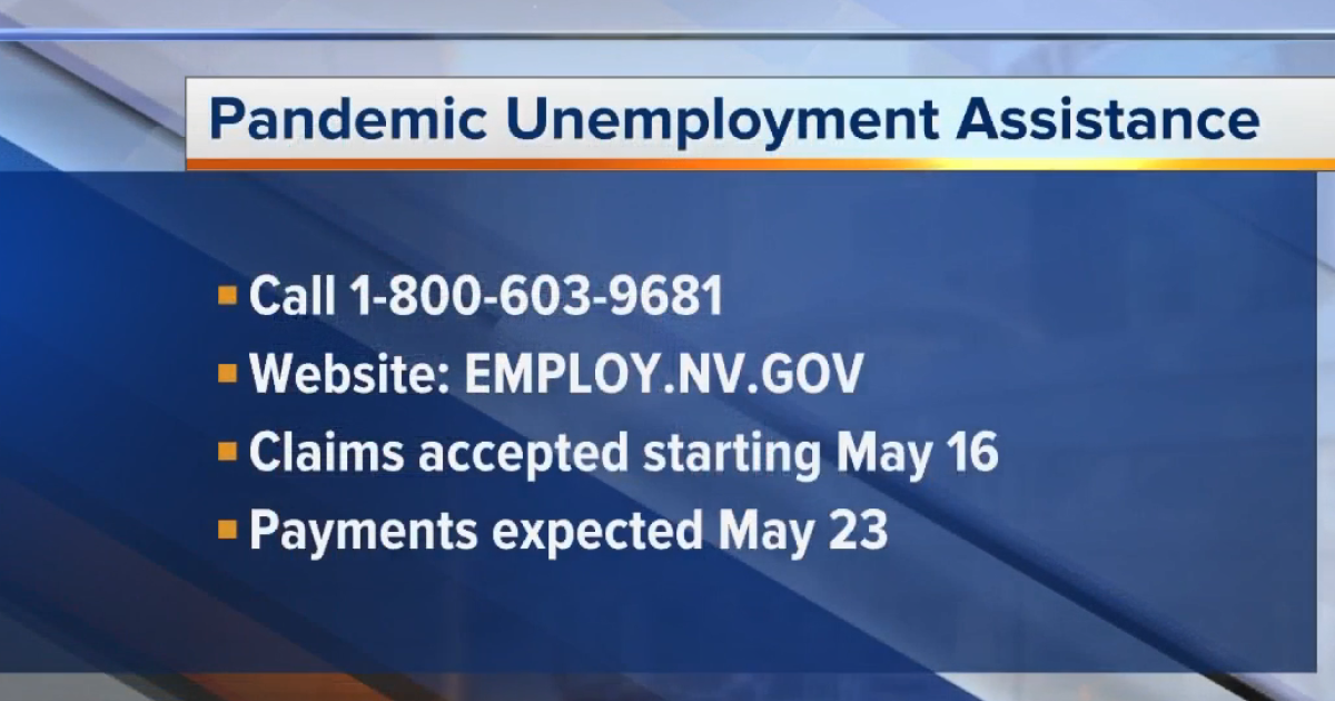 Nevada Unemployment Office Offers Pandemic Unemployment Assistance Filing System