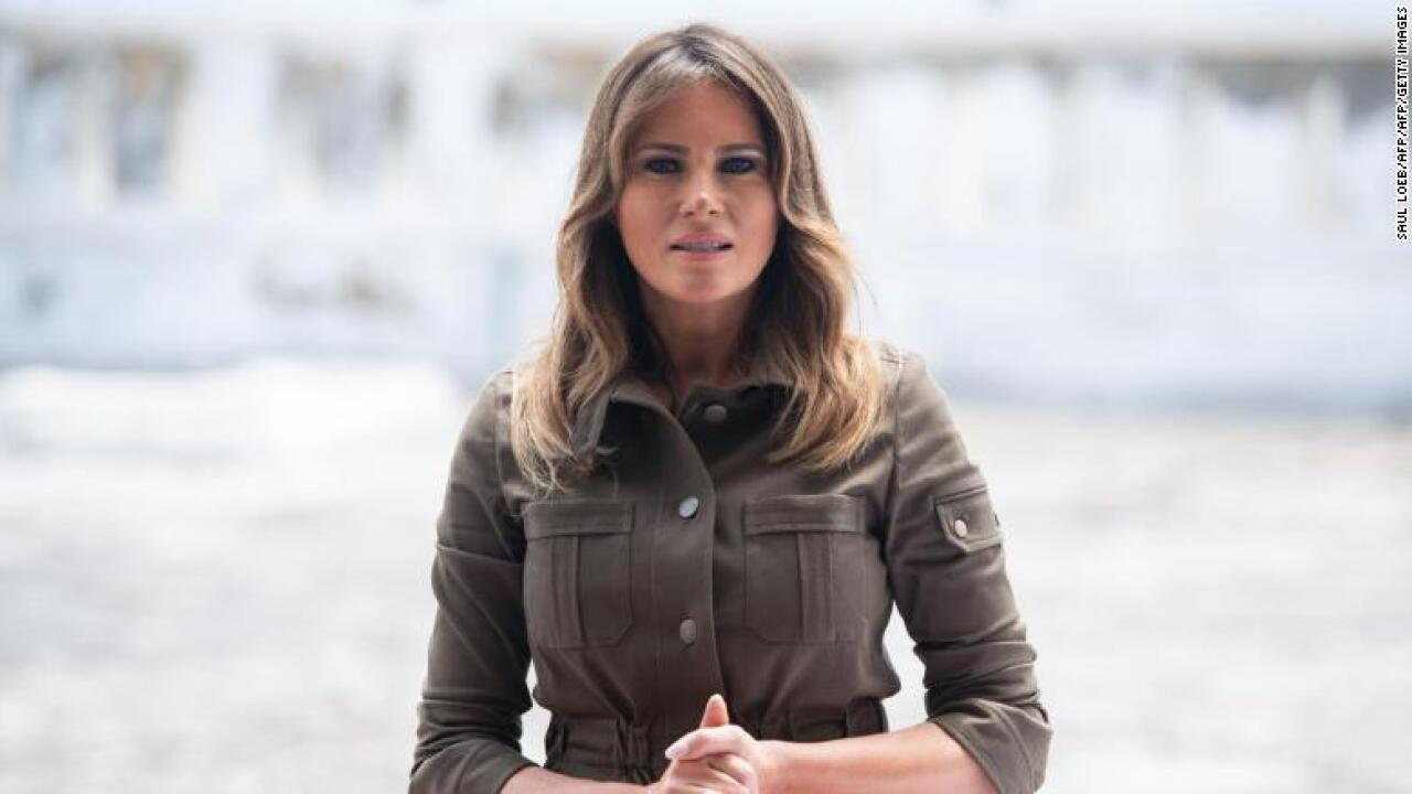 Melania Trump says President Trump's alleged affairs are 'not concern and focus of mine'