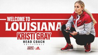 Kristi Gray hired as UL Volleyball Head Coach