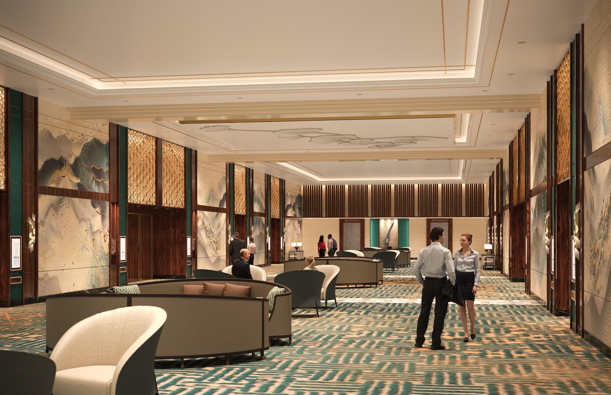 Resorts World Las Vegas - Jasmine Ballroom Prefunction Rendering.jpg