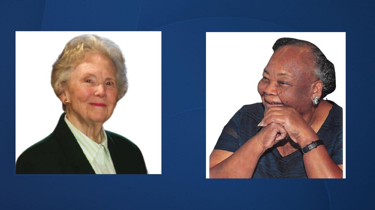 Alma Lee Joy and E. Thelma Waters