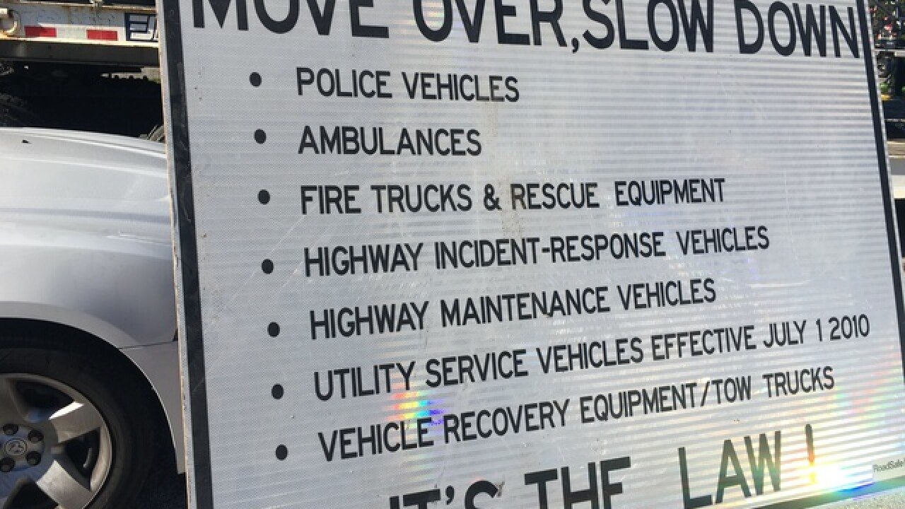 GALLERY: Indiana Move Over Day event