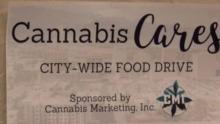 Local medical dispensaries partner with Care and Share to collect food for the holidays