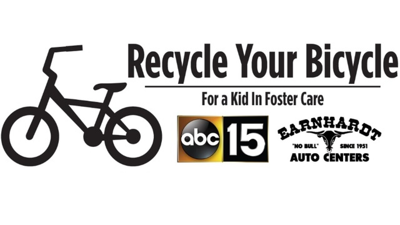Recycle Your Bike for kids in foster care