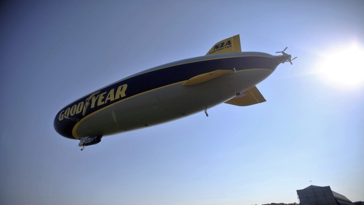 PHOTOS: Ride Along in Goodyear's Wingfoot Two