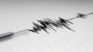 Earthquake scale graph