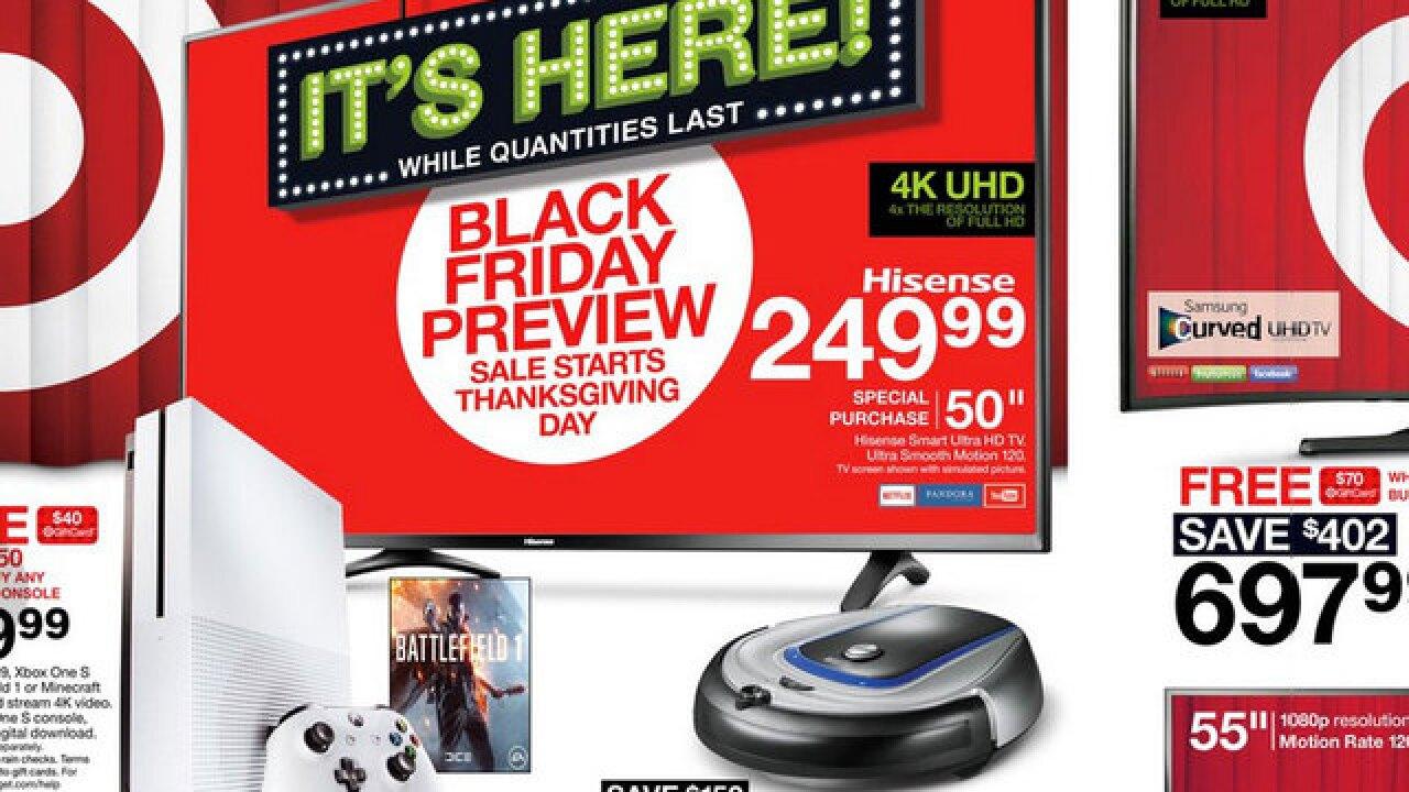 3227c4282da Black Friday 2016  The best TV deals at Target