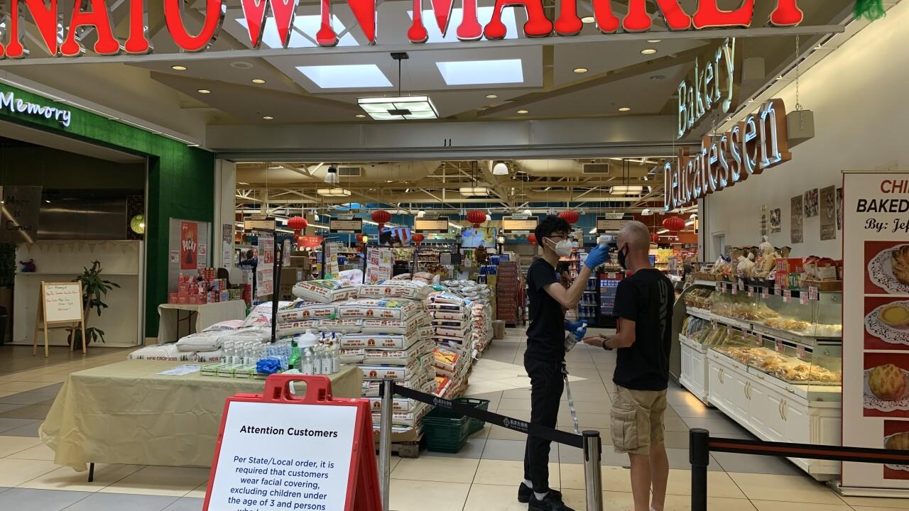 Chinatown Supermarket COVID-19