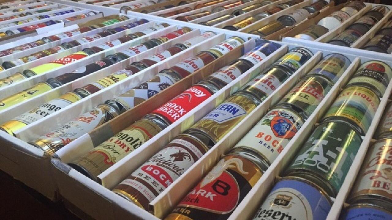 See lots of brewing memorabilia at Moerlein