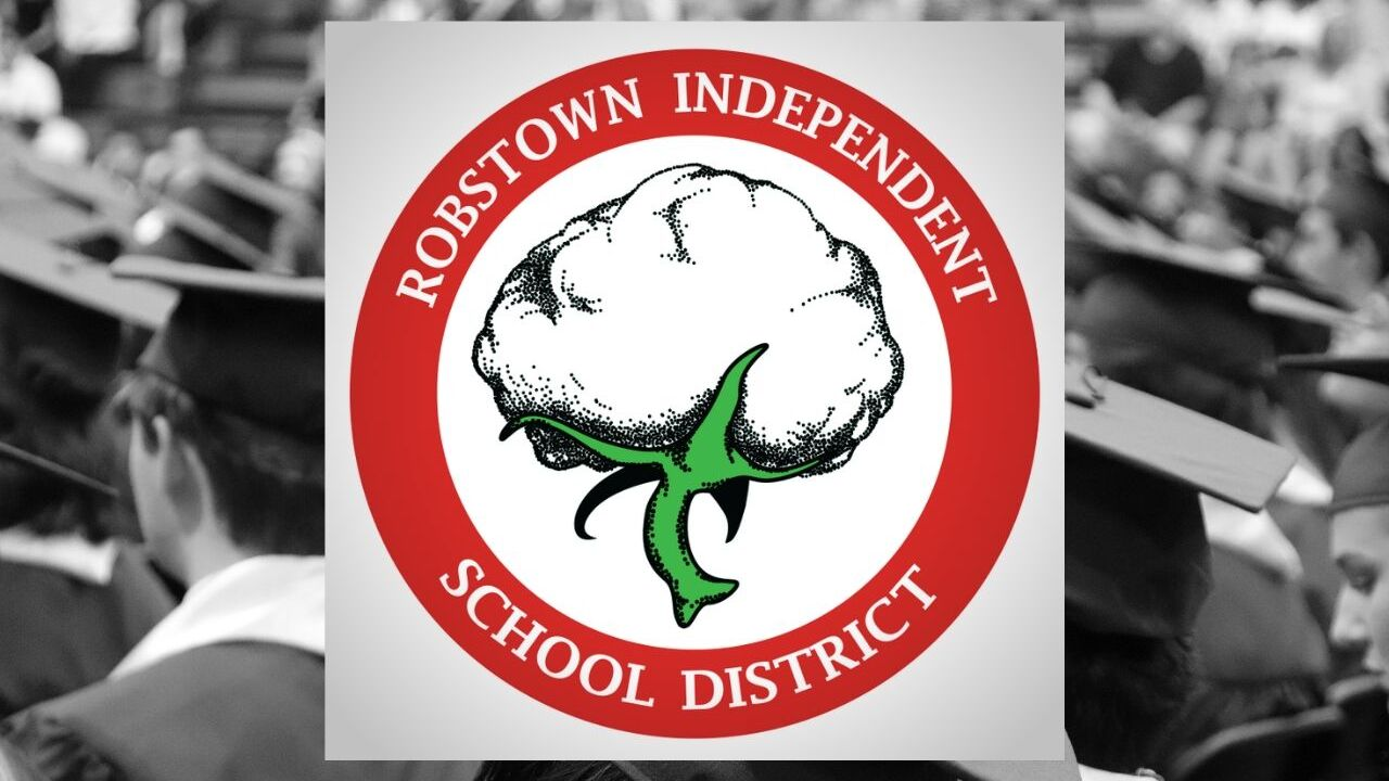 Robstown school district logo graduation.jpg