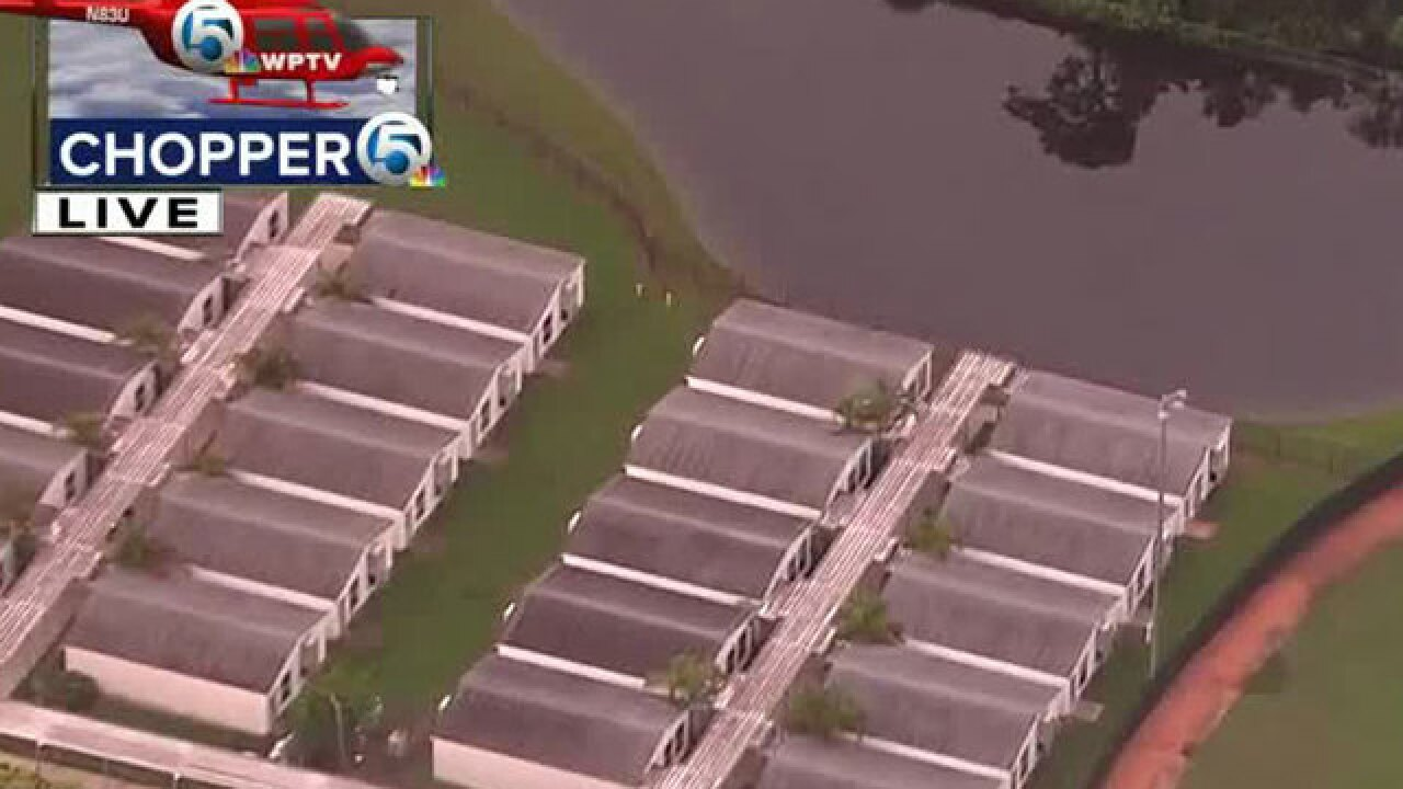 Royal Palm students moved after gator spotted