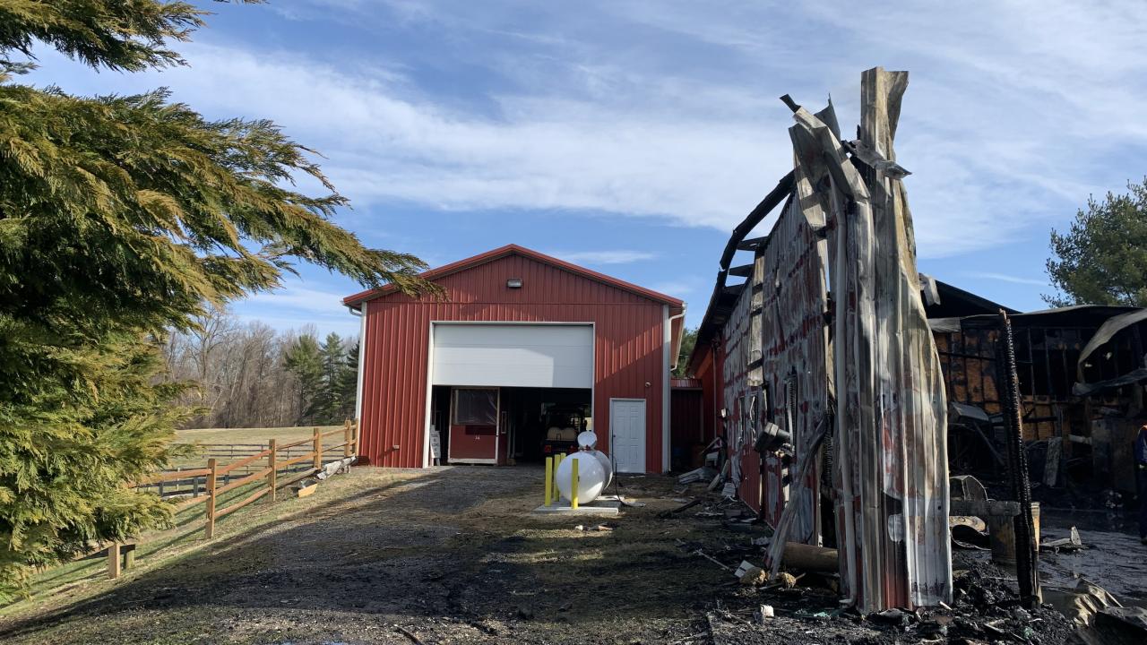Carroll County Farm Museum Fire