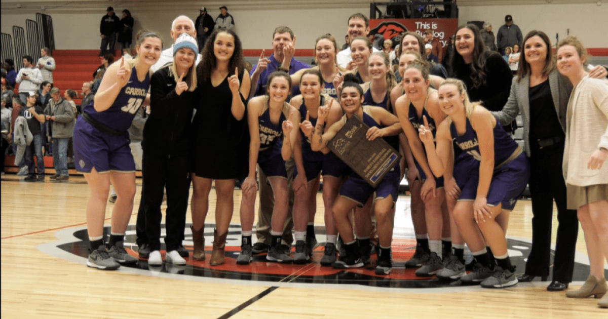 Reaction Carroll College Women Crowned 2019 Frontier
