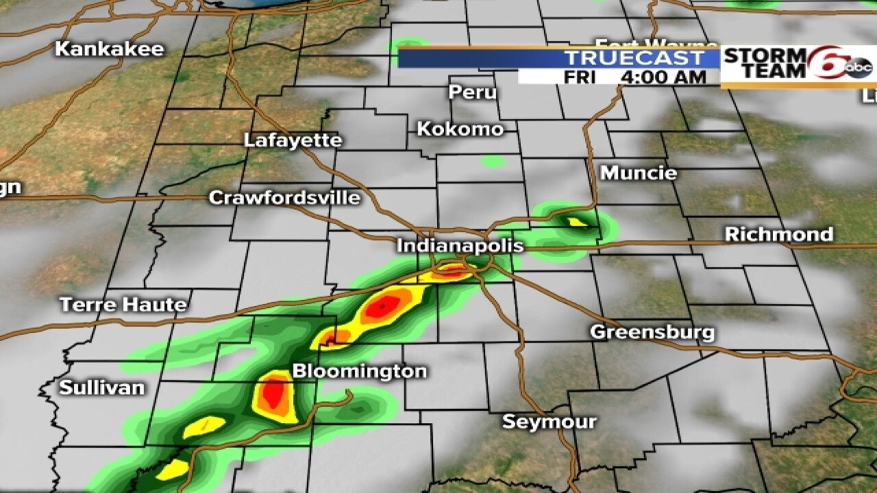 TIMELINE: When to expect storms in your area