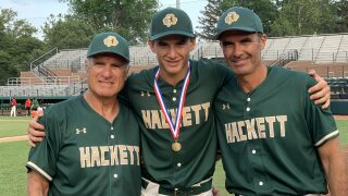 Verduzco family helps lead Hackett Catholic to first-ever state title.