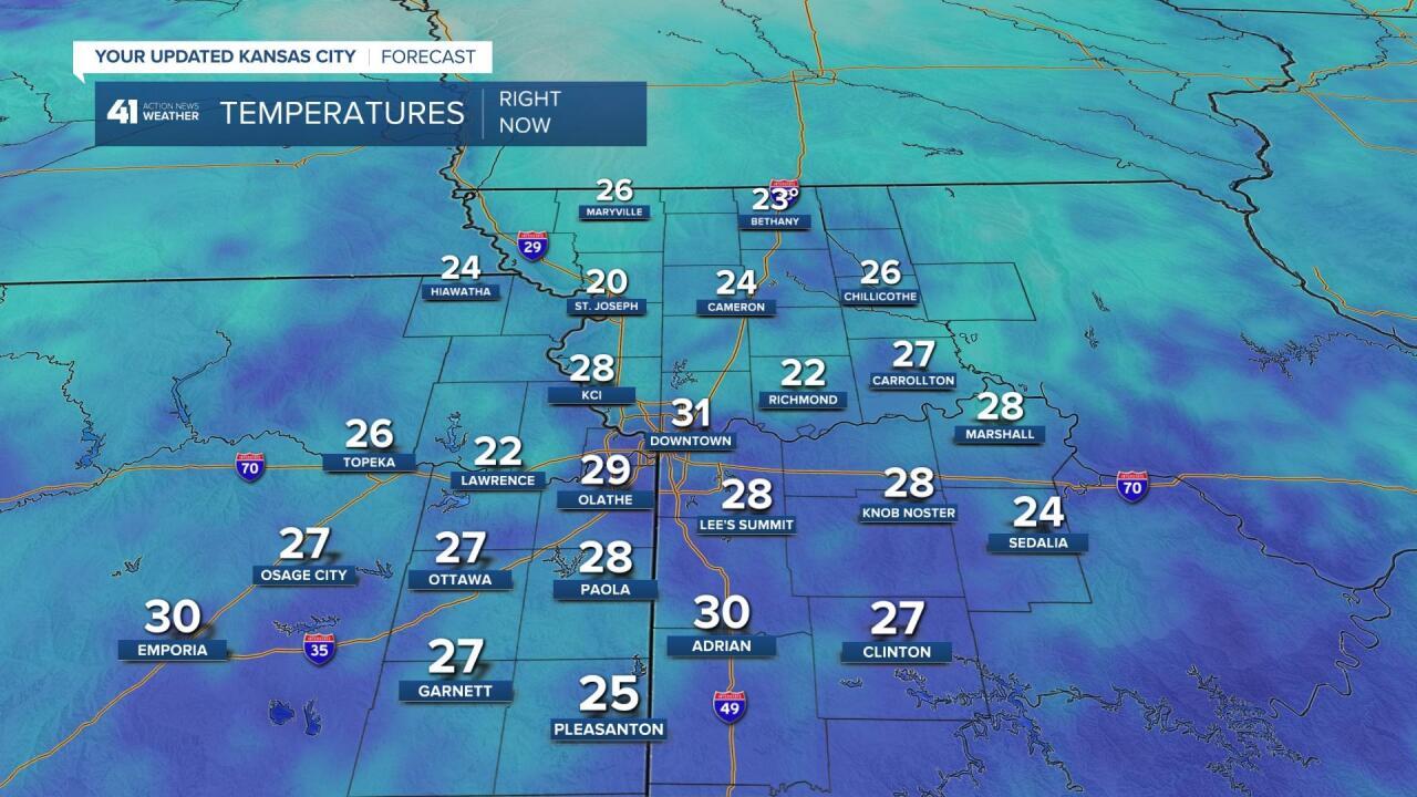 7 AM Temperatures
