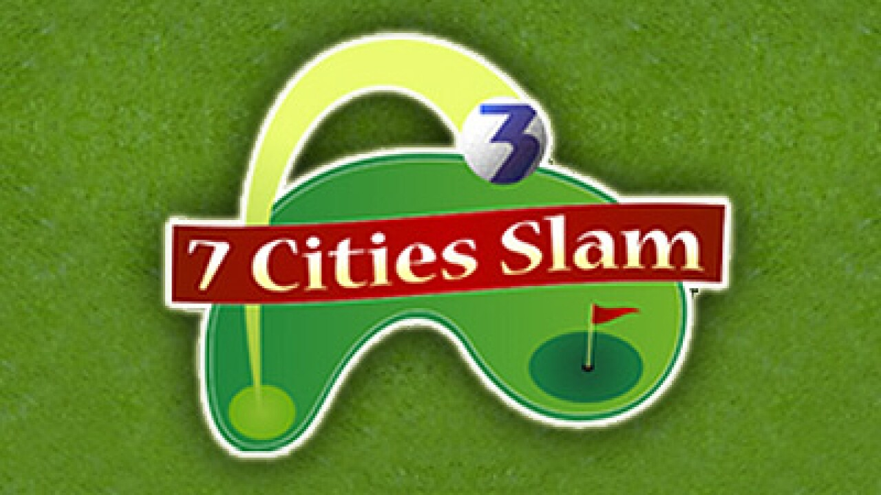 The 7 Cities Slam Golf Card!