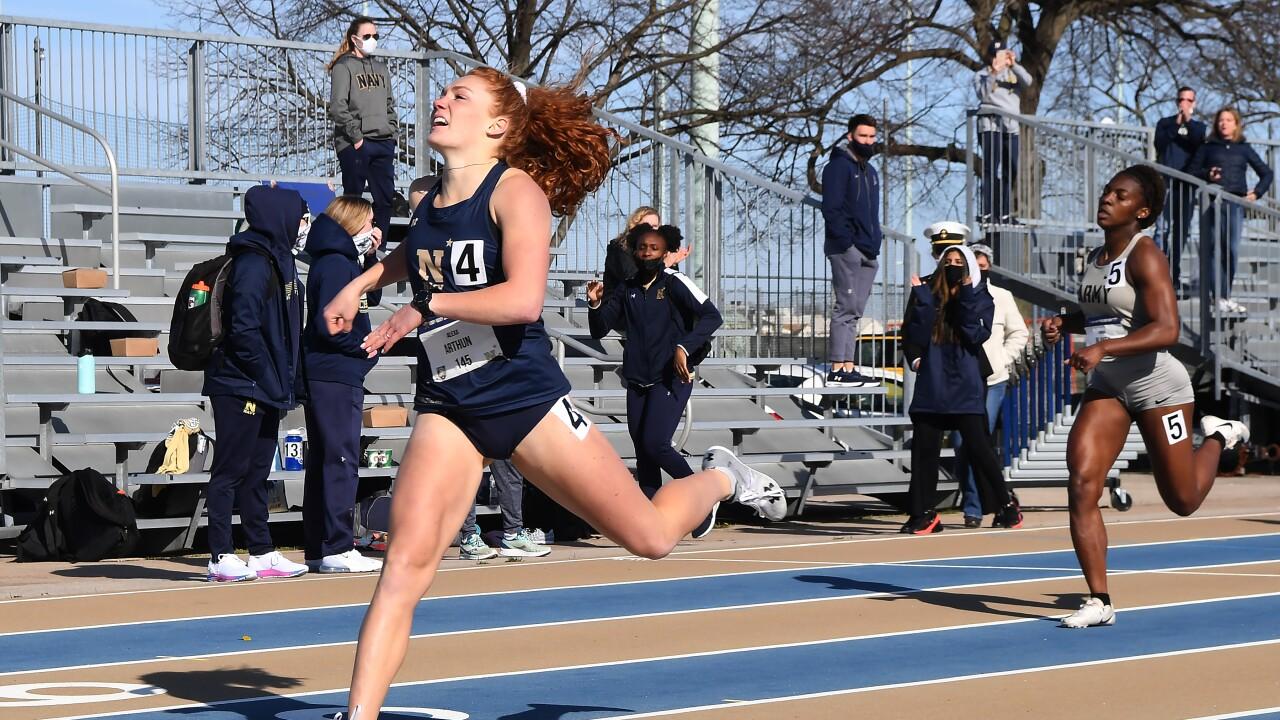 Manhattan native Alexa Arthun excels on Naval Academy Track and Field team