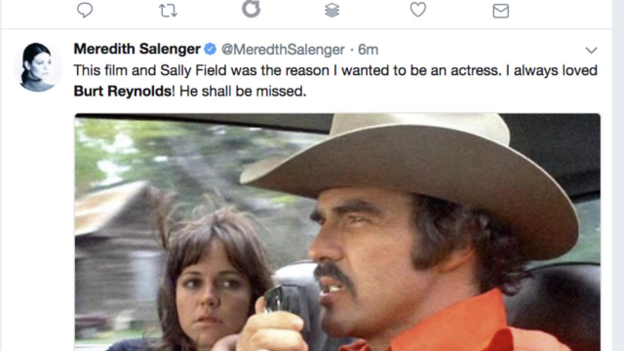 Celebrities, fans pay tribute to Burt Reynolds on social media