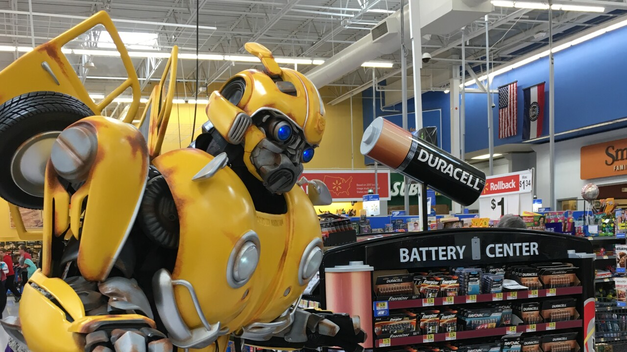 Bumblebee Transformers Tour