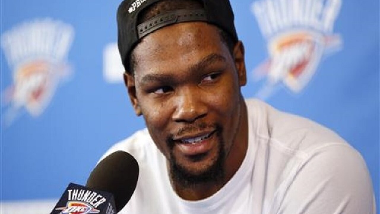 Kevin Durant announces he will join Golden State Warriors