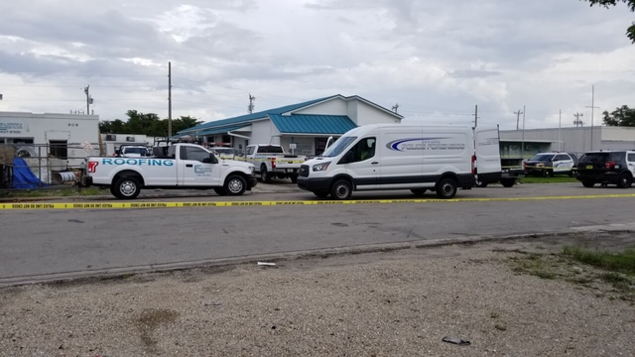 Police investigate shooting outside Cape Coral business