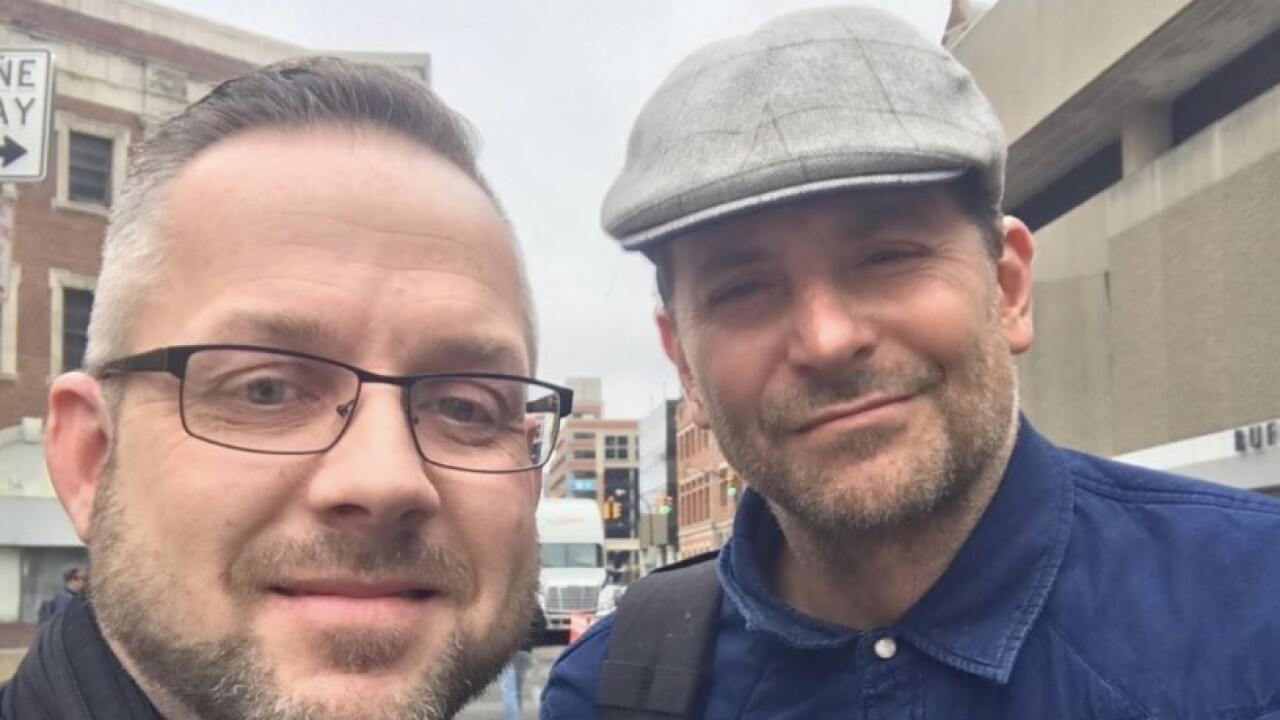 He's here! Award-winning actor Bradley Cooper has been spotted in Buffalo for 'Nightmare Alley'