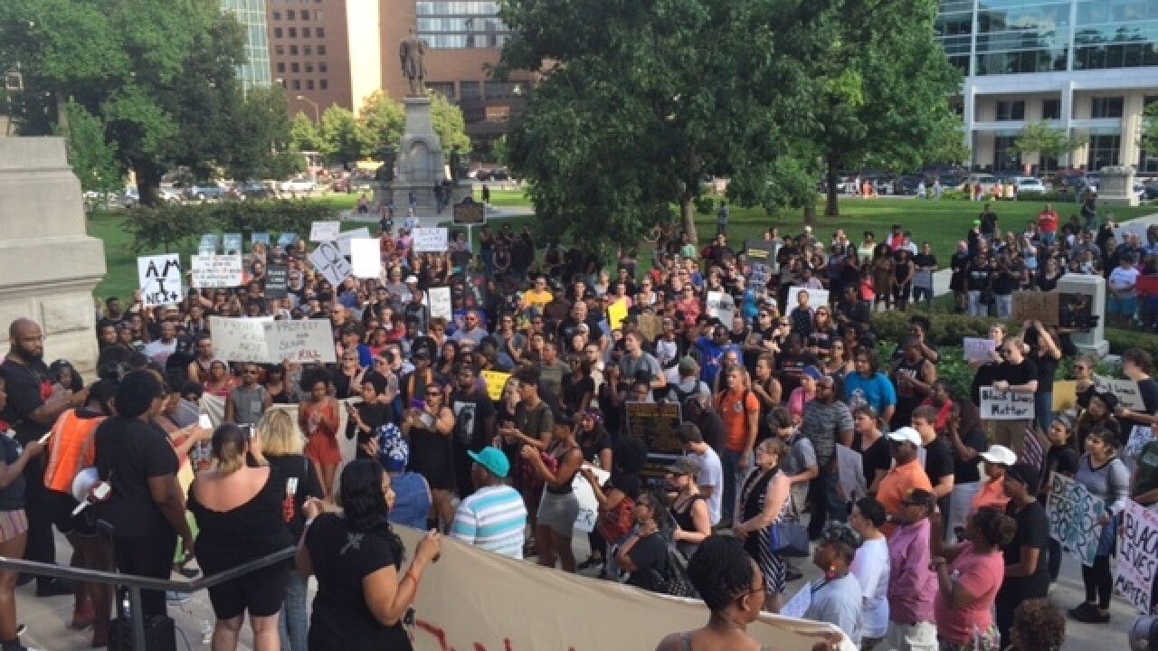 PHOTOS: Black Lives Matter protest in Indy