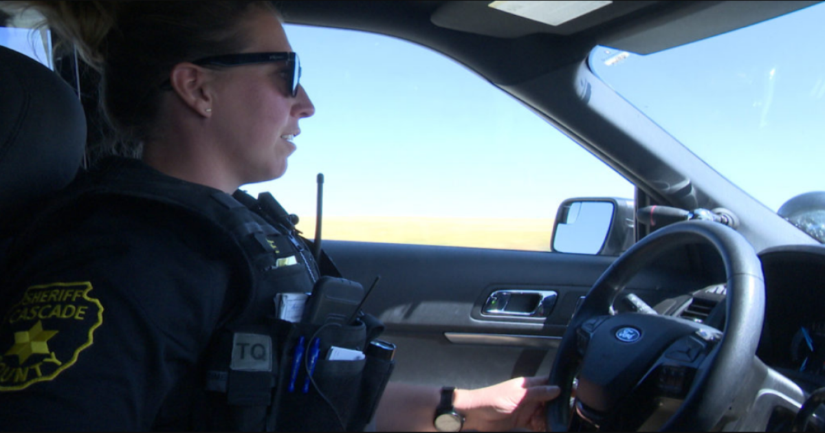 Sheriff's office in Montana welcomes first female deputy to