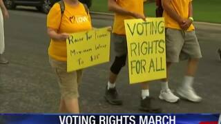 Voting Rights March to Texas Capitol
