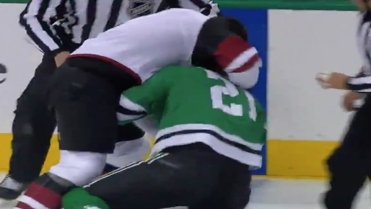 WATCH: Hockey players engage in ridiculous 'fight'