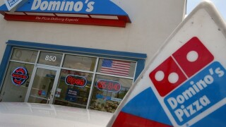 Domino's employee braves 'Welcome to Hell' riots to deliver pizza
