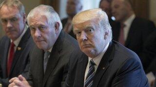 Trump calls Tillerson 'dumb' after Tillerson calls Trump 'undisciplined'