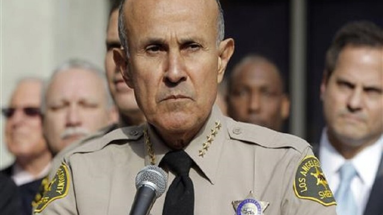 Judge rejects plea deal of ex-Los Angeles County sheriff
