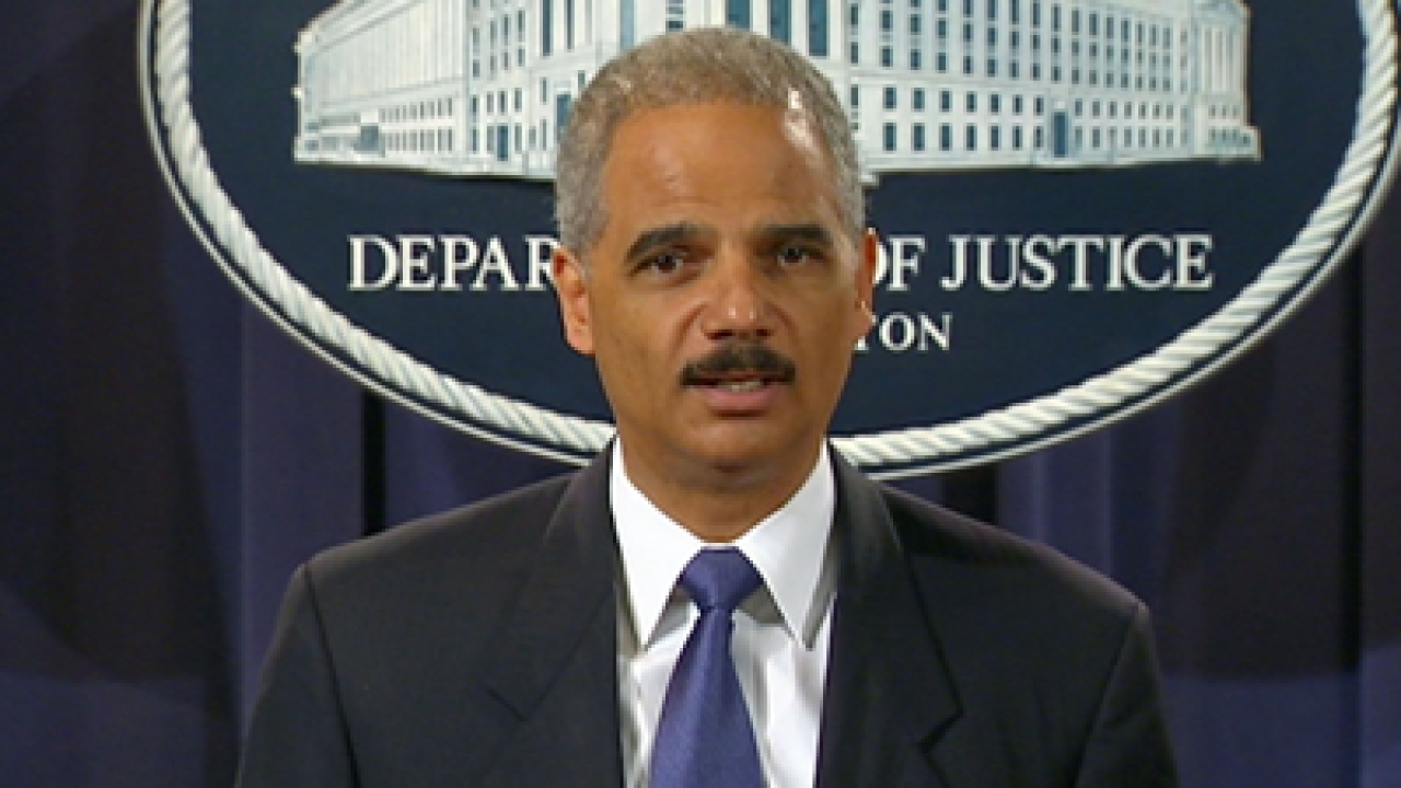 House panel recommends Holder contempt citation