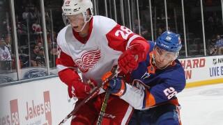 Gustav Lindstrom to make NHL debut as Red Wings visit Sabres