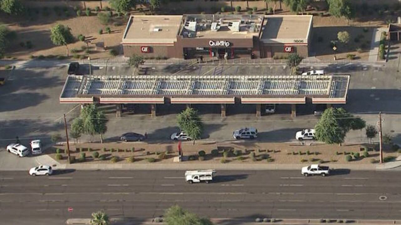 PD: Child hurt in accidental shooting at PHX QT