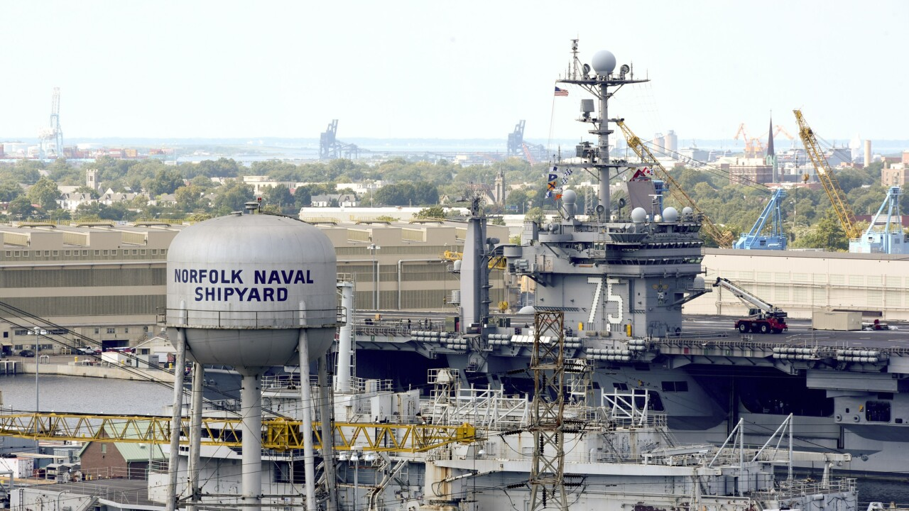 NCIS investigating threatening message found at Norfolk Naval Shipyard