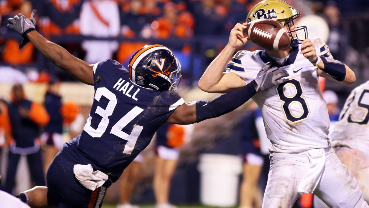 'Skins scoop: UVA's Bryce Hall to Redskins in 2020 Draft?