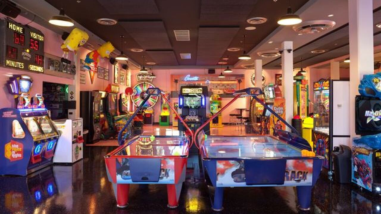 Arcades for some indoor fun in San Diego