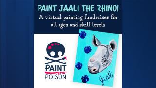 Jaali the black rhino