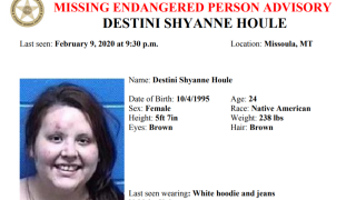 Missing/Endangered Person Advisor issued for Missoula woman