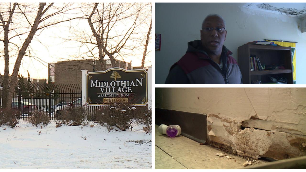 Congressman saysMidlothian Village residents are living in 'unconscionable' conditions
