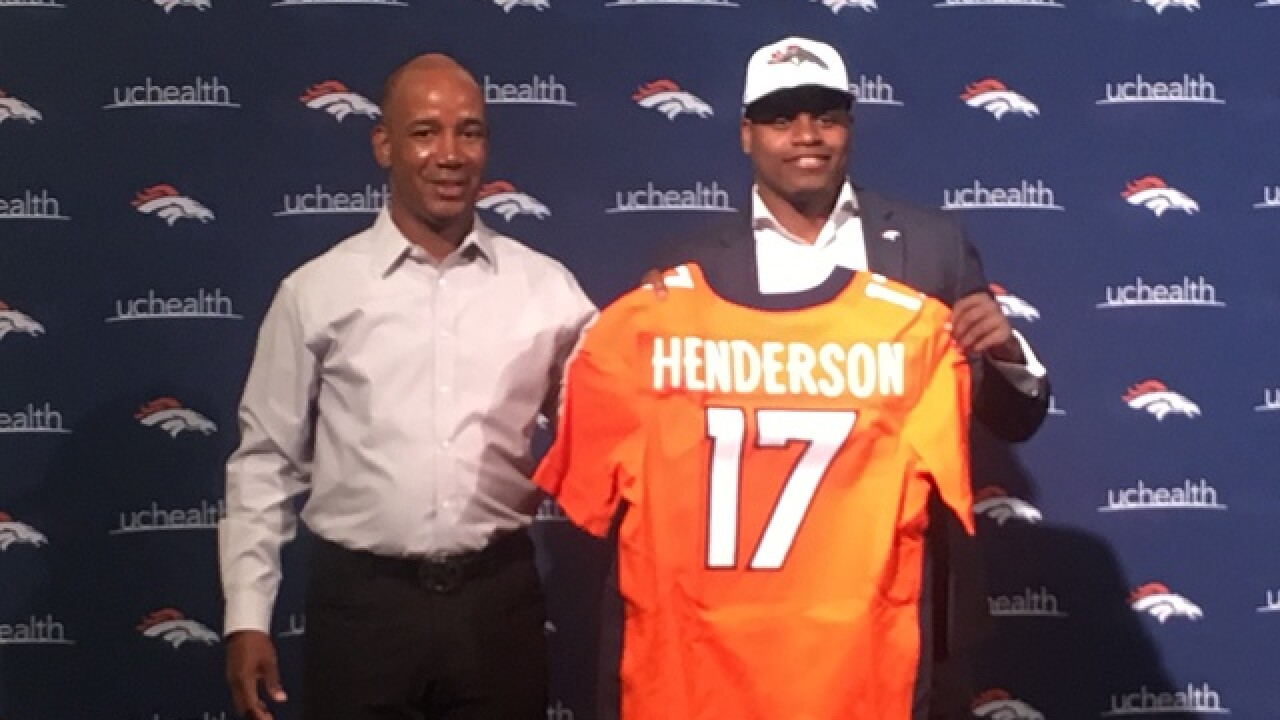 Broncos receiver Carlos Henderson arrested in Louisiana on marijuana charge