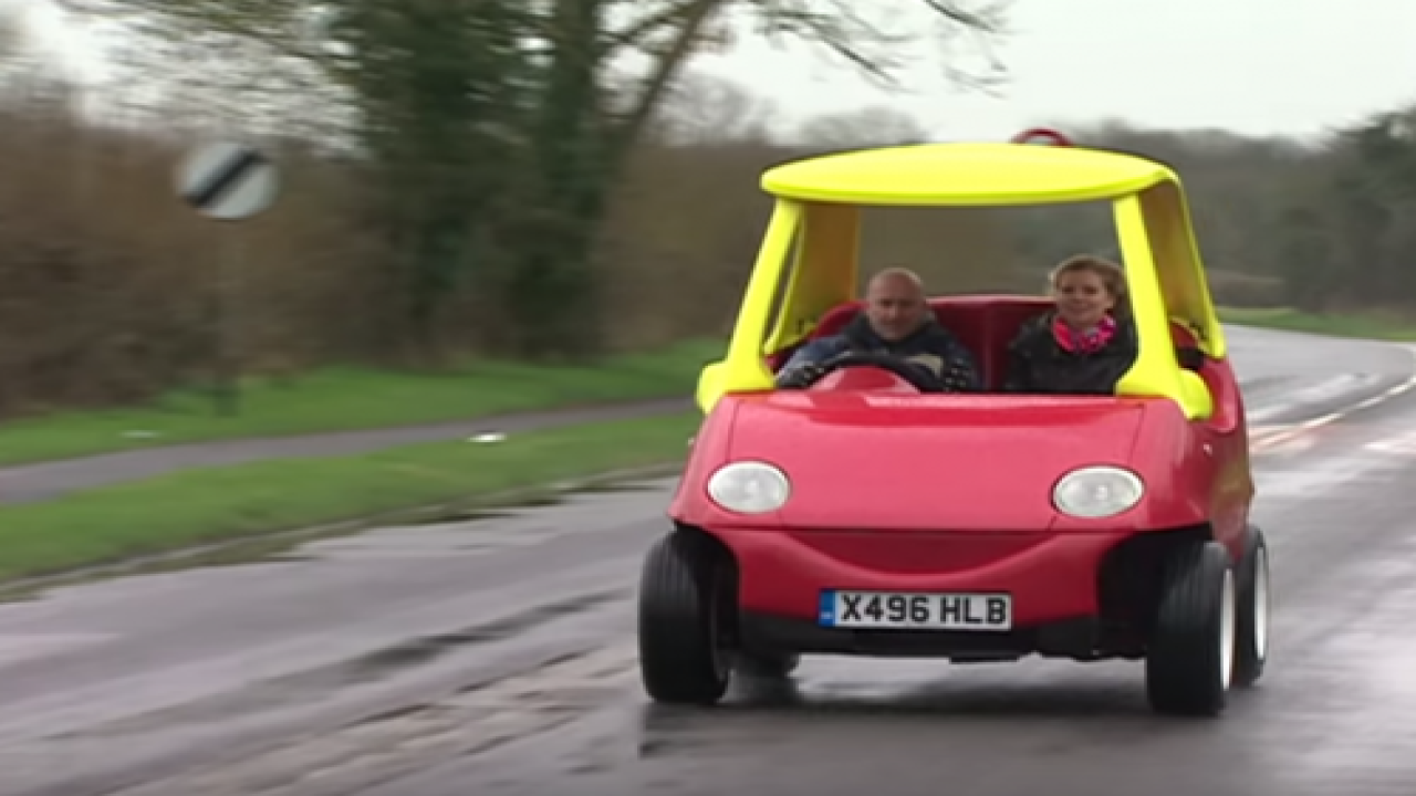 A Pair Of British Brothers Made An Adult-sized Toy Car That Can Reach Up To 70 MPH